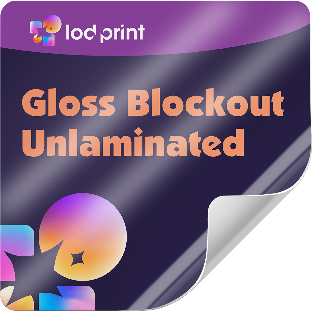 Blockout Sticker (Gloss Finish)