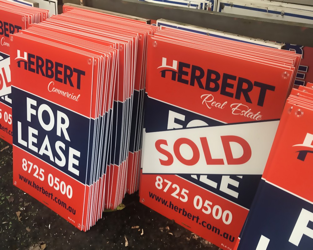 Corflute Signs (5mm Thickness)